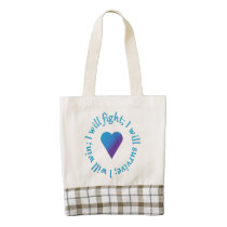 I WIll Fight Suicide Awareness Tote