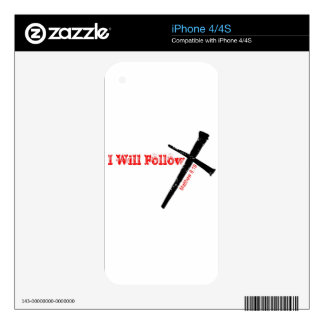 I Will Follow Decals For The iPhone 4S
