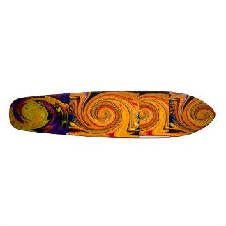 I will follow_Skateboard_by Elenne Boothe Skateboard Deck