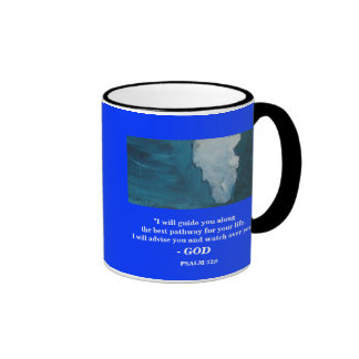 I WILL GUIDE YOU RINGER COFFEE MUG