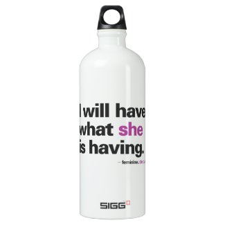 I will have ... Water Bottle SIGG Traveler 1.0L Water Bottle