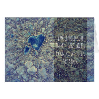 I Will Hold You In My Heart Card