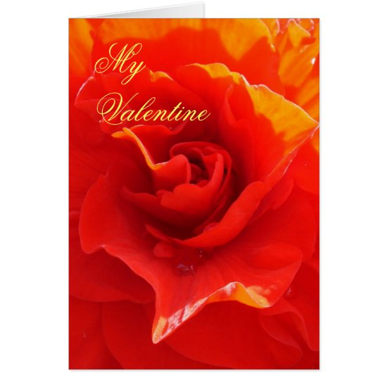 I will love you until... Valentine card