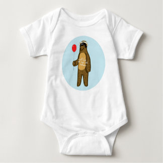 I will lure you back with balloons baby bodysuit