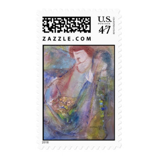 """I WIll Make You Fishermen"" Postage Stamp"