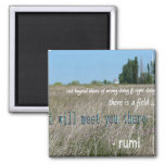 i will meet you there 2 inch square magnet