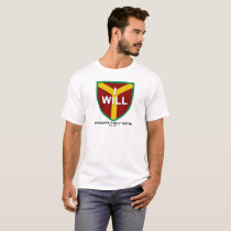 """I Will"" Motto, Slogan of Chicago, IL T-Shirt"
