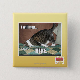 I will nap here button