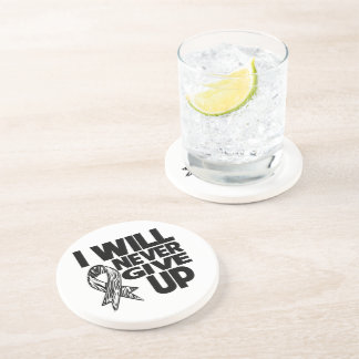 I Will Never Give Up Neuroendocrine Cancer Coasters