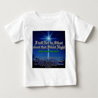 I will not be Silent about Silent Night T Shirt