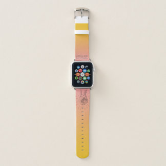 I Will Not Be Silent Apple Watch Band