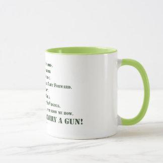 I Will Not Carry a Gun Mug