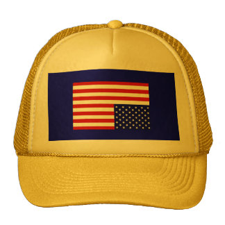 I Will Not Comply ! American Flag Truckers Cap ! Trucker Hat