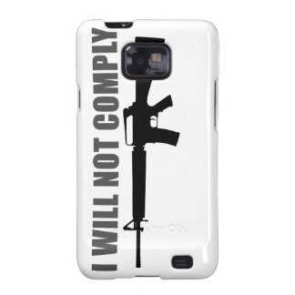 I will not comply galaxy SII cases