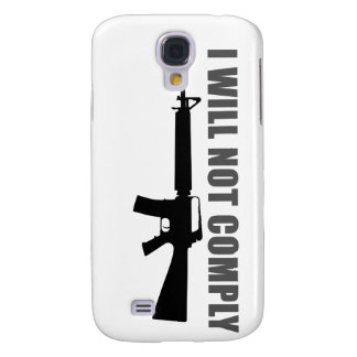 I will not comply galaxy s4 cover