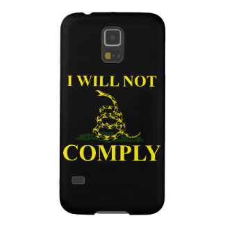 I Will Not Comply! Galaxy S5 Cover