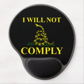 I Will Not Comply! Gel Mouse Pad