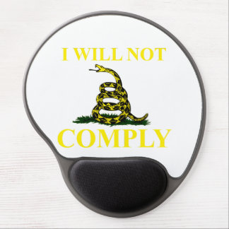 I Will Not Comply Gel Mouse Pad