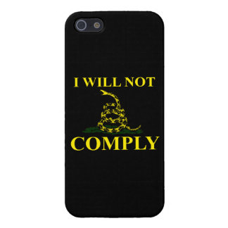I Will Not Comply! Cases For iPhone 5
