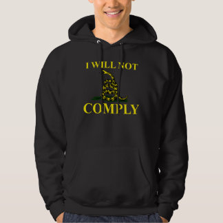 I Will Not Comply Pullover