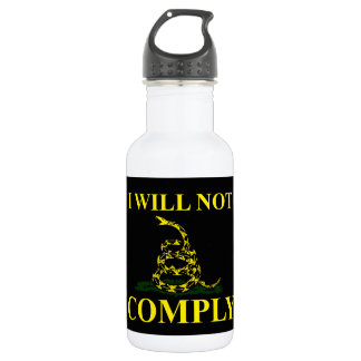 I Will Not Comply! Water Bottle