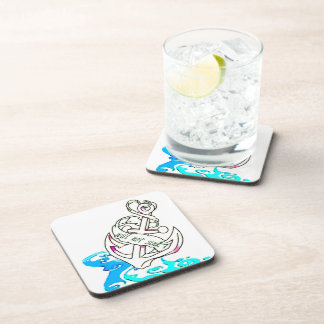 I Will Not Sink Anchor Drink Coaster