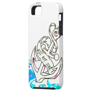I Will Not Sink Anchor iPhone 5 Case