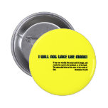 I will not take the mark! Revelation 14 2 Inch Round Button