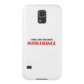 I Will Not Tolerate Intollerance Galaxy S5 Case