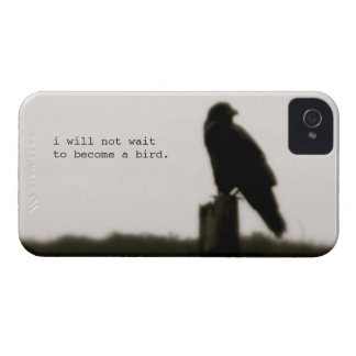 """i will not wait"" iphone 4/4s case iPhone 4 cases"