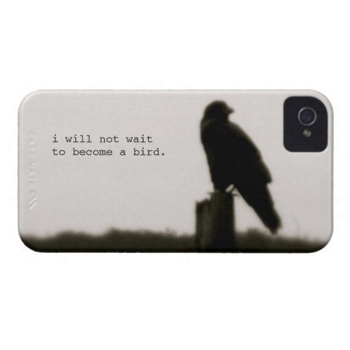 """""""i will not wait"""" iphone 4/4s case iPhone 4 cases"""