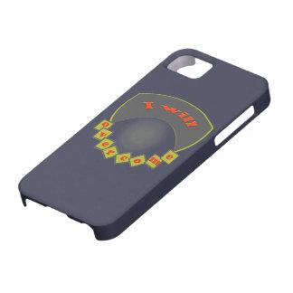 i will overcome iPhone SE/5/5s case