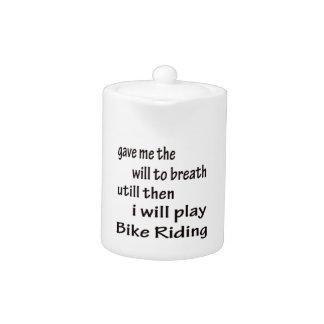 I will play bike riding.