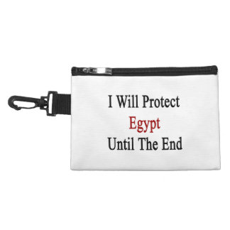 I Will Protect Egypt Until The End Accessory Bag