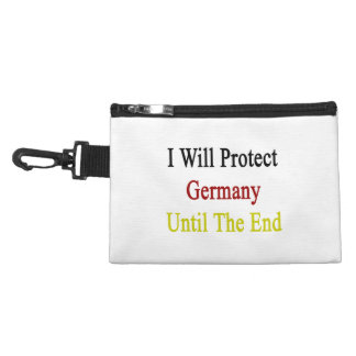 I Will Protect Germany Until The End Accessory Bags