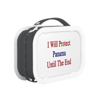 I Will Protect Panama Until The End Yubo Lunchbox