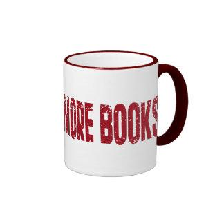 I Will Read More books Ringer Coffee Mug