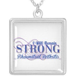 I will remain strong Rheumatoid Arthritis Necklace