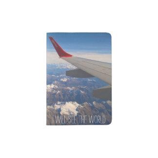 I Will See the World Passport Holder