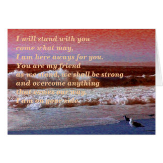 I Will Stand With You_Card_by Elenne Boothe Card