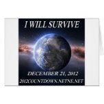 I will survive 2012 greeting cards