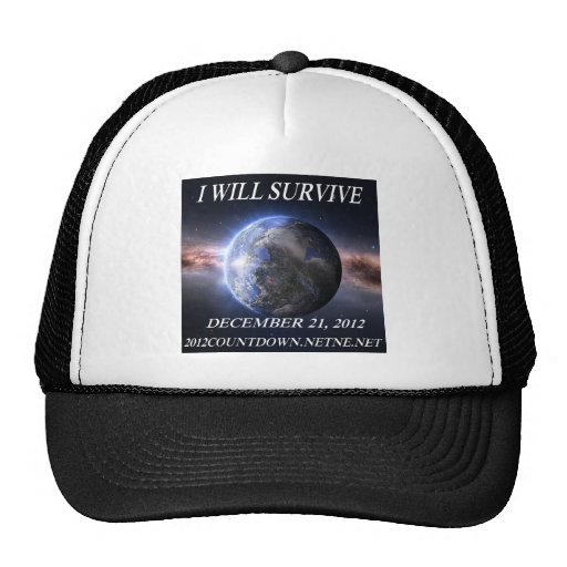 I will survive 2012 hat