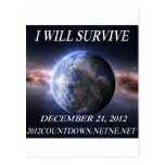I will survive 2012 post card