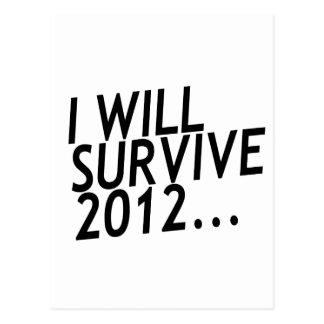 I Will Survive 2012 Postcard