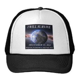 I will survive 2012 trucker hat