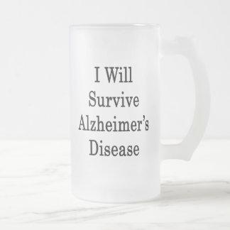 I Will Survive Alzheimer's Disease Mug