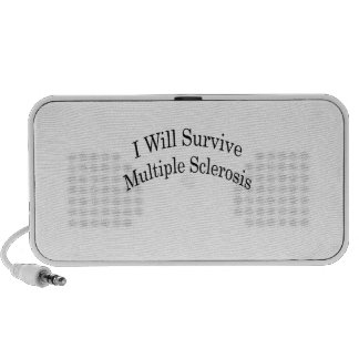 I Will Survive Multiple Sclerosis Portable Speakers