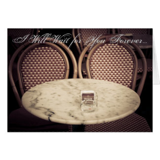 I Will Wait for You Forever - Valentine's Day, Lov Card