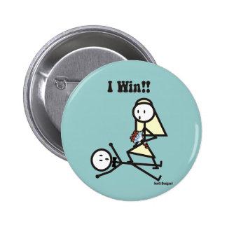 I Win-Wedding Pin