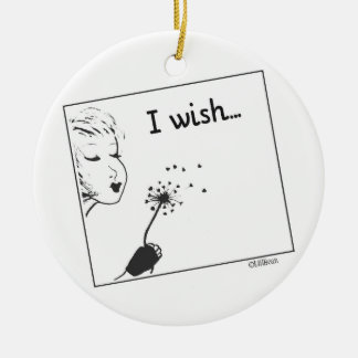 I Wish... Ceramic Ornament